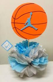 Basketball Themed Baby Shower Decorations Adriana U0027s Creations Baby Shower Theme Centerpieces