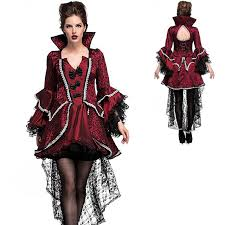 halloween women vampire lace dress gothic medieval fancy