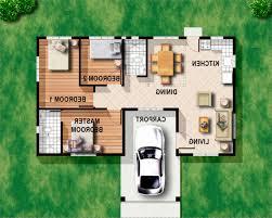 home design 3 bedroom floor plan bungalow decorating ideas for