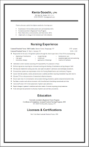 Oncology Nurse Resume Templates Free Nursing Resume