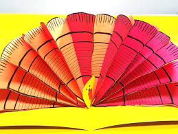 pop up turkey craft free printable turkey feathers and crafters