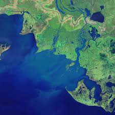 South Louisiana Map by New Land On The Louisiana Coast Image Of The Day