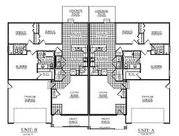 Twin House Plans Twin Home Plans Amazing House Plans
