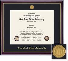 college degree frames diploma frames spartan bookstore sjsu bookstore