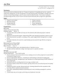Bartender Job Summary Job Description For Resume Job Description Welder Resume Cv