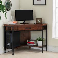 Small Desk With Drawer Furniture Black Desk Small Pc Desk Small Desk With Shelves
