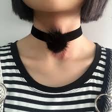 black velvet collar necklace images 47 best sexy choker images choker necklaces black jpg