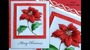 handmade christmas cards youtube