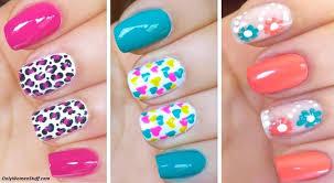 nail art nail art designs easy home wonderfulatural design simple