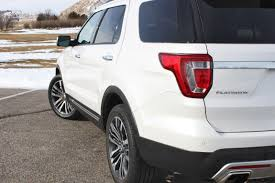 Ford Explorer 3 Rows - road test review 2016 ford explorer platinum with tim esterdahl