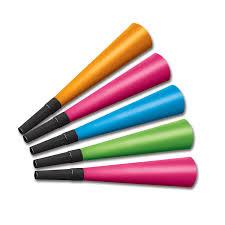 bulk party supplies 100ct beistle neon horns bulk party supplies