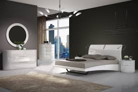 moonlight bedroom set in white by creative furniture
