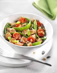 cuisiner les pois mange tout meli melo de pois mange tout aux tomates cerises et tofu bjorg