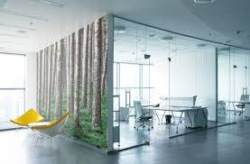 woodspire green nature tree mosaic design office wall artaic