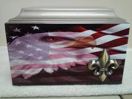 Eagle Scout Flag 403 Patriotic Eagle And American Flag Cremation Urn Military Free