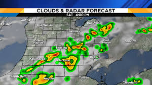 Radar Map Of Michigan by Weekend Severe Storm Threat Is Increasing
