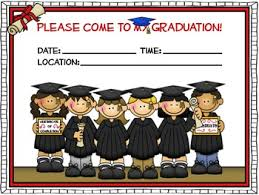 kindergarten graduation invitations free 4 different styled graduation invitations to use to invite