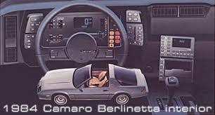 1986 camaro berlinetta for sale chevrolet camaro history 1967 present