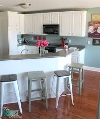 painted kitchen islands reclaimed wood kitchen island the turquoise home