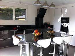 plan de travail sur pied cuisine pied ilot cuisine plan de travail avec pied cuisine sur re table à