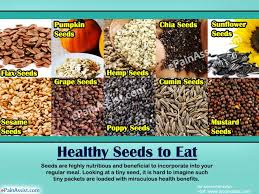 seeds to eat 10 seeds to include in the diet for good health