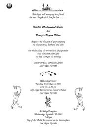 wedding card matter wedding invitation wording in for muslim muslim