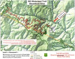 Steamboat Trail Map Places To Ride In Idaho Backcountryatv Org