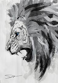 lion the king of the jungle by dik theprince on deviantart
