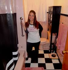 retro pink bathroom ideas pink and black bathroom decorating ideas1 pictures to pin on