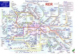 Paris Map Metro by Rer Map My Blog