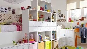 rangement de chambre petits espaces une chambre pour deux enfants cube rangement