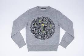 kim jones sweatshirt james merry flower power showstudio