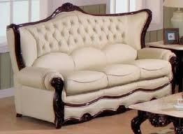 Exquisite Victorian Style Leather Sofas - Leather sofa designs