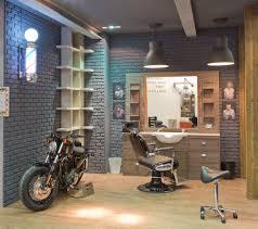 Buro Einrichtung Beton Holz Barbershops Wo Bartpflege Stilecht Zelebriert Wird Bertz News