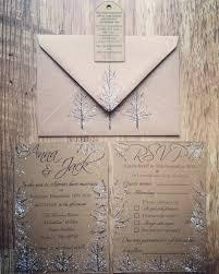 Christmas Wedding Invitations Sample Rustic Winter Wedding Invitation Suite Rustic Wedding
