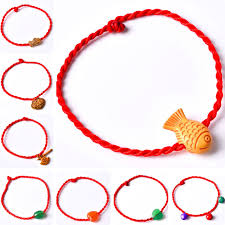 lucky charm red bracelet images Novelty different styles red rope charms lucky bracelet women jpg