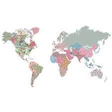 wallpops boho world map wall decal reviews wayfair boho world map wall decal