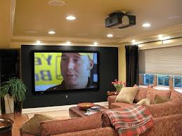 decorations egypt style basement home theater room decor ideas