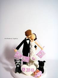 cake topper with dog 541 best wedding cake topper w pets images on