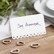 lovable wedding place cards wedding place cards with names printed