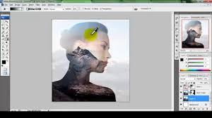 tutorial double exposure photoshop cs3 double exsposure tutorial photoshop cs3 youtube