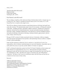 public affairs specialist resume coalition letter to senate majority leader mcconnell r ky on chemic u2026