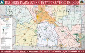 bridges of county map covered bridge bluegrass festival the bridges of union county