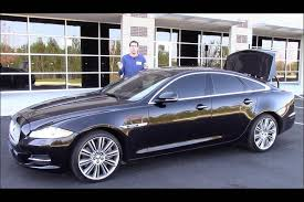 a picture of a car a used jaguar xj supercharged is a lot of car for 35 000 autotrader