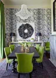 green and black dining rooms contemporary dining room