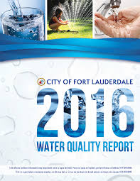 city of fort lauderdale fl water quality report and online