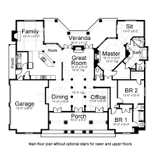 classical style house plan 3 beds 3 5 baths 2834 sq ft plan 119