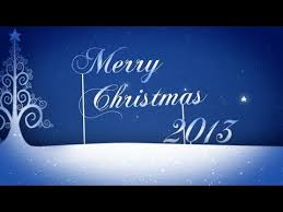 animated christmas card template merry christmas text youtube