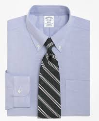 men u0027s non iron slim fit brookscool button down collar dress shirt