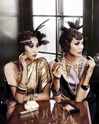 roaring 20 s fashion hair the great gatsby fashion trends check out the use of bobby pins